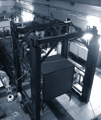 Система обнаружения взрывчатых веществ в крупногабаритных транспортных средствах и грузах