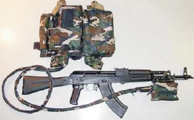 Малогабаритный лазерный комплекс противодействия снайперам ПАУК