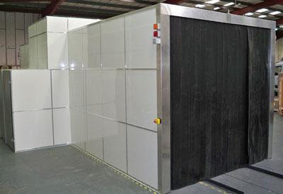 Рентгеновская система досмотра авиационных грузов RAPISCAN EAGLE A1000