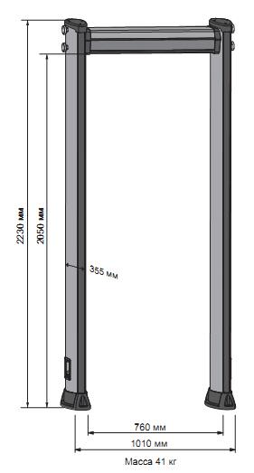 Dimensions METOR 6C