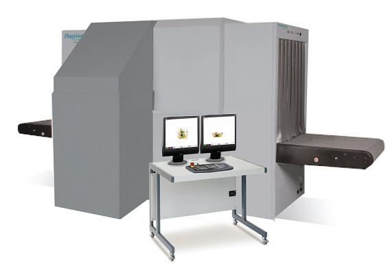 Рентгеновская досмотровая установка Rapiscan 627DV для досмотра небольших грузов, багажа и крупных посылок