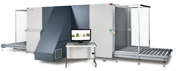Рентгеновская установка Rapiscan 638XR для досмотра крупных паллетированных грузов