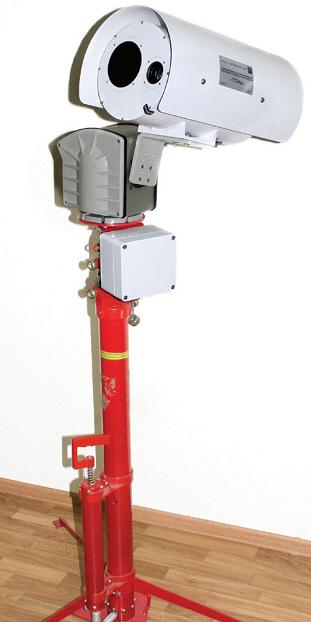 Мобильный тепловизионный комплекс для охраны периметра ТСН-Ш