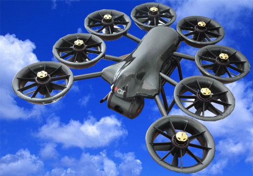 Беспилотный летательный аппарат AIR 170x с вертикальным взлетом