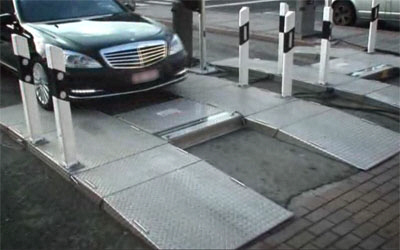 Система досмотра днища автомобилей Кобра