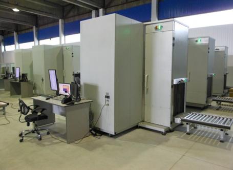 Универсальный рентгеновский сканер для досмотра пассажиров и багажа Шток-РСЧ