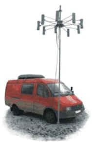 Мобильный автоматический пеленгатор АРК-МК7
