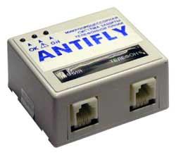 Многофункциональная микропроцессорная система защиты телефонных переговоров ANTIFLY