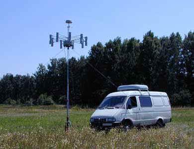 Мобильная станция радиомониторинга и пеленгования Аргумент