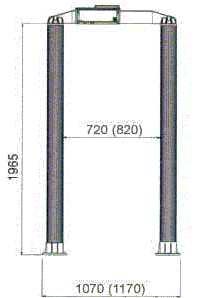 Металлодетектор стационарный  C.E.I.A CLASSIC