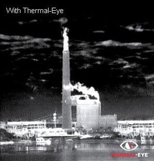 Стационарный мобильный неохлаждаемый тепловизор Thermal-EYE 5000xp
