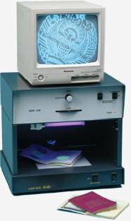 Портативная система определения подлинности документов QDX-430