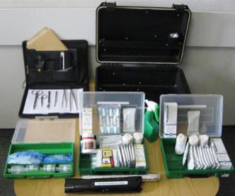 Криминалистический чемодан для обнаружения и изъятия следов биологического происхождения BIOFORSET