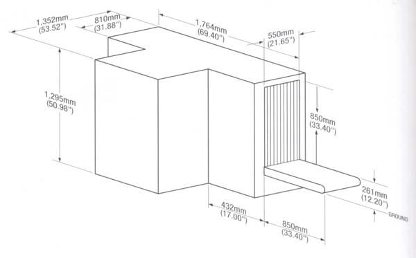 Рентгеновская досмотровая система Rapiscan 524