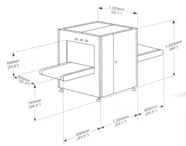 Рентгеновская досмотровая система Rapiscan 526