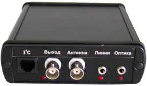 Конвертер для поиска и анализа сигналов в сети 220 В, проводных линиях и оптическом ИК канале RS/L plus