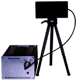 Система блокирования каналов утечки информации  по беспроводным сетям и стандартным радиоинтерфейсам RS Blockshort