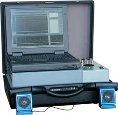Комплекс радиомониторинга многофункциональный портативный АРК-Д1ТИ