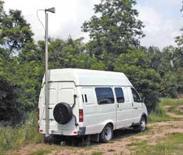 Измерительная мобильная станция радиомониторинга, пеленгования и контроля радиоканалов АРК-МС1И (АРГУМЕНТ-И)