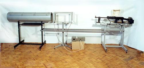 Универсальная установка для отстрела огнестрельного оружия промышленного и самодельного производства.