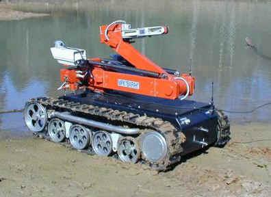 Многофункциональный мобильный робототехнический комплекс легкого класса Варан