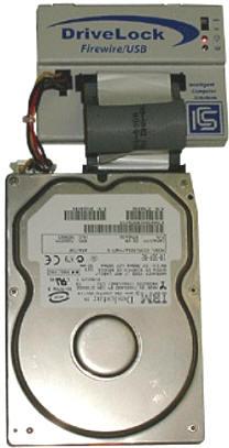 Устройство блокирования записи для накопителей на жестких магнитных дисках DriveLock Firewire/USB