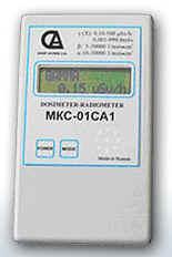 Дозиметр- радиометр  МКС-01СА1   с речевым выводом.