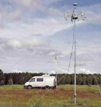 Мобильный пеленгатор АРК-ПП4 (АРТИКУЛ-М4)