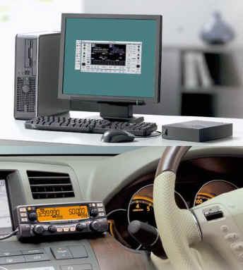 Сканирующие радиоприемники, совмещенные с ПЭВМ ICOM IC-R2500, IC-PCR2500
