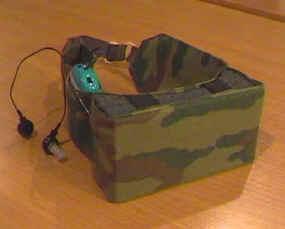 Направленный микрофон разведчика НМ-СН головной