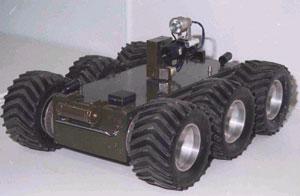 Мобильный робототехнический комплекс МРК-01