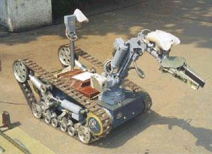 Мобильный робототехнический комплекс МРК-25 КУЗНЕЧИК
