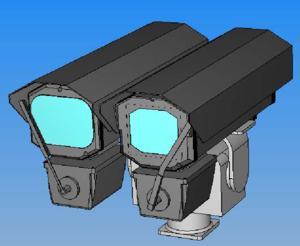 Стационарный комплекс круглосуточного видеоконтроля и обнаружения оптических объектов Тевтат