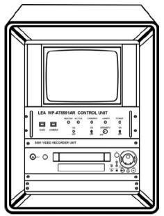 Цветная система видеонаблюдения WP-AT5591AR днища автотранспорта.