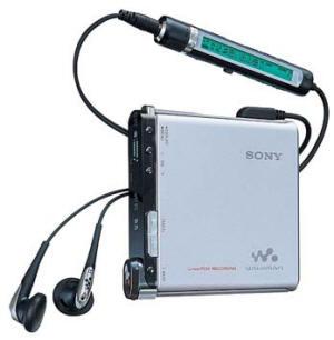 Сверхтонкий Hi-MD Walkman с диском 1Gb Sony MZ-RH1