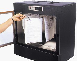 Испарительная камера для проявления невидимых отпечатков DFO