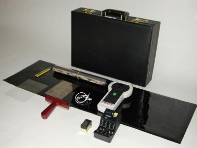 Electrostatic DUST PRINT LIFTER: электростатический съёмник отпечатков на пыли.