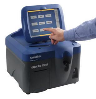 Система оперативного детектирования взрывчатых веществ и наркотиков Ionscan 500DT