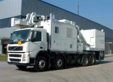 Мобильный инспекционно-досмотровый комплекс THSCAN MT1213LT