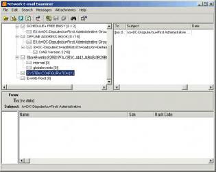 Анализатор баз данных электронных писем Paraben Network E-mail Examiner