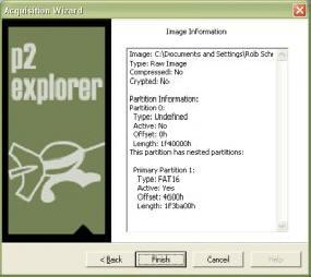 Программа Paraben P2 eXplorer