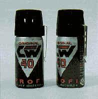 Газовый баллончик CW-40 PROFI
