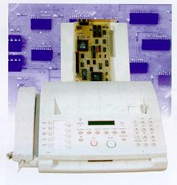 Плата записи факсимильных сообщений FAX RECEIVER