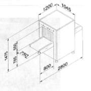 Рентгеновская досмотровая система Rapiscan 322