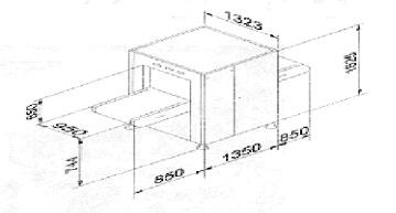 Рентгеновская досмотровая система Rapiscan 326