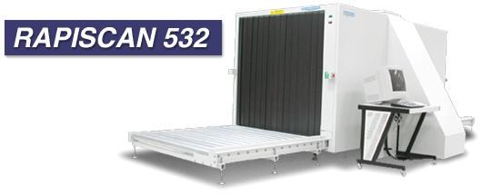 Рентгеновская досмотровая камера Rapiscan 532