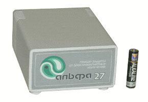 Прибор коллективной защиты от электромагнитных излучений Альфа-27