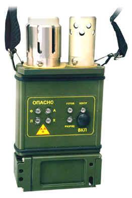 Войсковой автоматический газосигнализатор ГСА-3М
