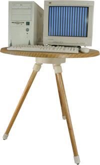 Поворотный диэлектрический стол для проведения специсследований средств СВТ СПД-1