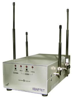 Устройство блокирования работы систем мобильной связи Квартет 4